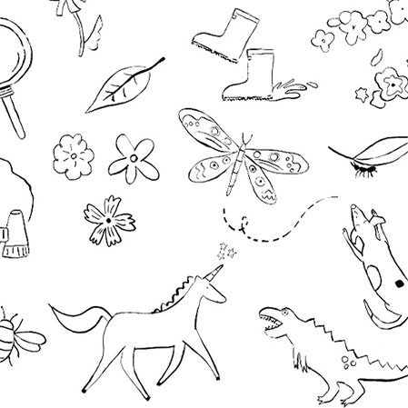 For Little Ones: Free printable colouring insheet
